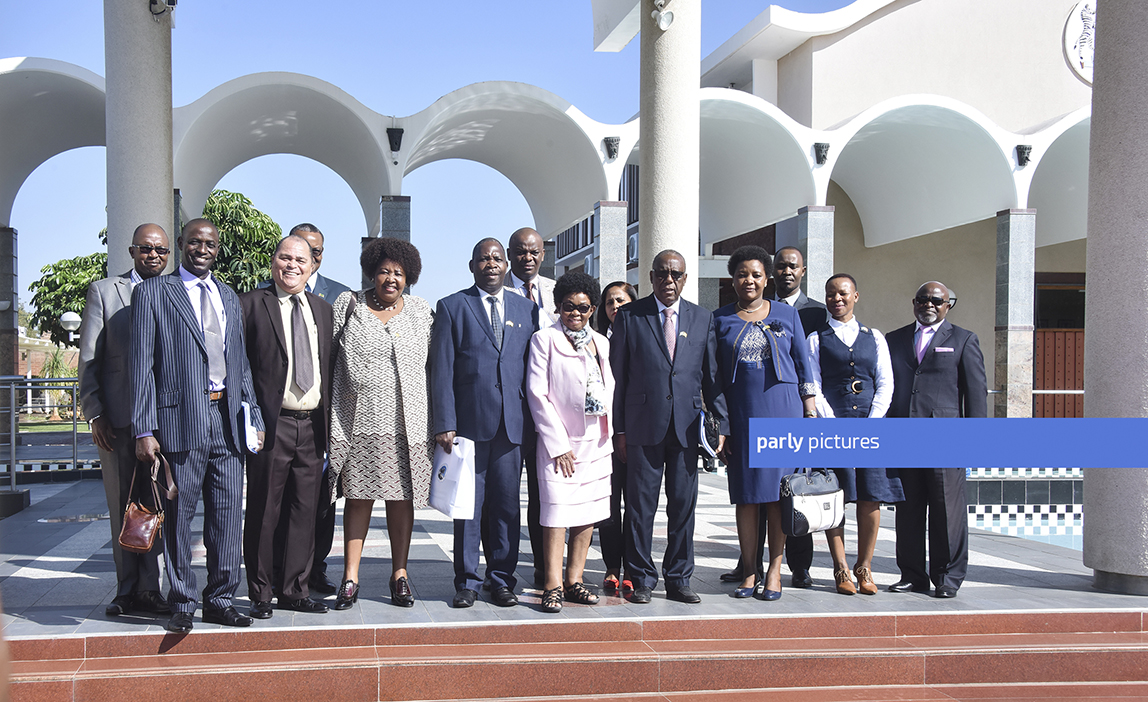 MEMBERS OF MOZAMBIQUE PARLIAMENT VISITED  PARLIAMENT OF BOTSWANA